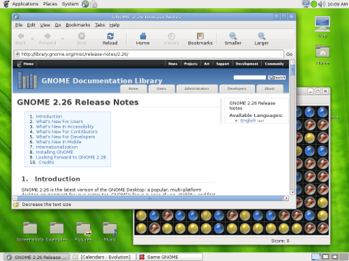 GNOME 2 26 Release Notes