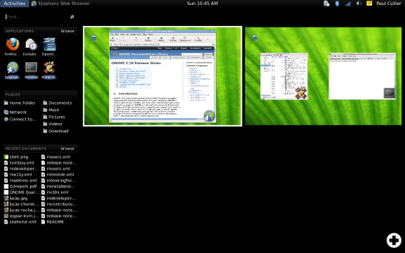 GNOME 2.28 Linux Operating system