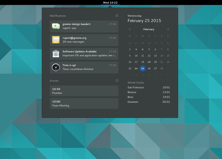 linux/gnome's changelog at AllMyChanges com, release notes tracker
