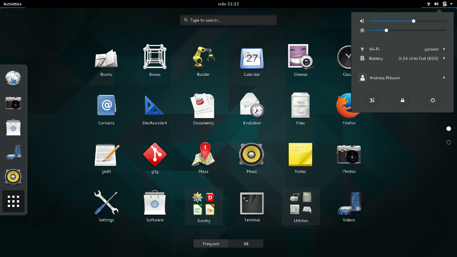 GNOME 3.16 リリースノート