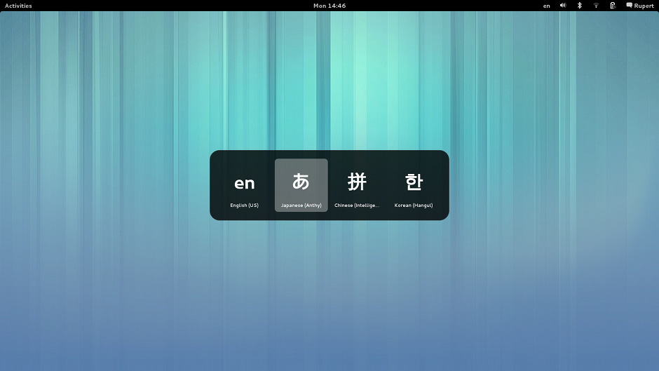 GNOME 3.8 Input method switcher